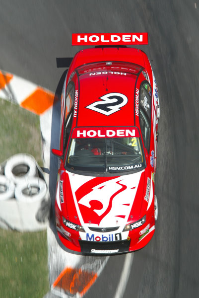 2003 Australian V8 Supercars Surfers Paradise, Australia. October 25th 2003.Todd Kelly in action during the Gillette V8 Supercar event at the Lexmark Indy 300 at the Sufer's Paradise street circuit.World Copyright: Mark Horsburgh/LAT Photographicref: Digital Image Only
