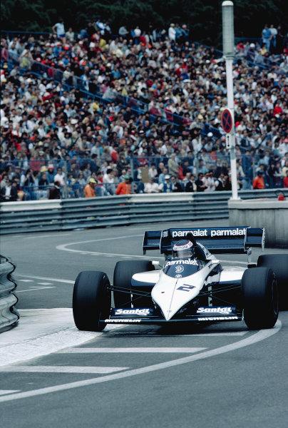1984 Monaco Grand Prix.Monte Carlo, Monaco.31/5-3/6 1984.Corrado Fabi (Brabham BT53 BMW).Ref-84 MON 63.World Copyright - LAT Photographic