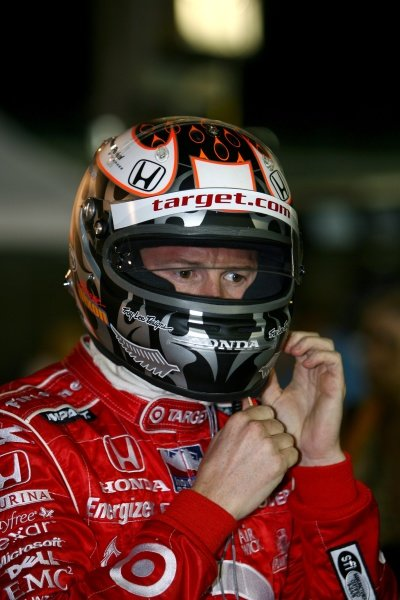 Scott Dixon (NZL), Target Ganassi Racing.