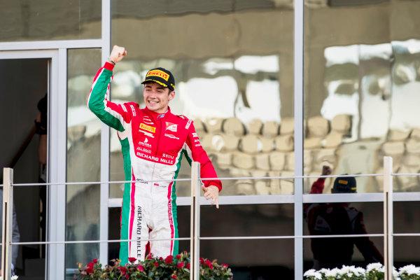 2017 FIA Formula 2 Round 11. Yas Marina Circuit, Abu Dhabi, United Arab Emirates. Sunday 26 November 2017. Charles Leclerc (MCO, PREMA Racing).  Photo: Zak Mauger/FIA Formula 2. ref: Digital Image _56I2478