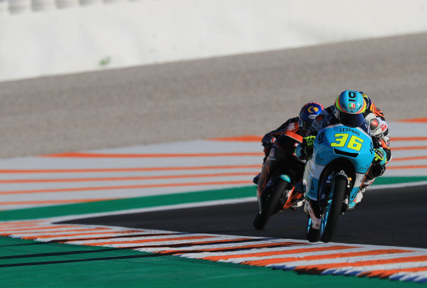 2017 Moto3 Championship - Round 18 Valencia, Spain  Friday 10 November 2017 Joan Mir, Leopard Racing  World Copyright: Gold and Goose Photography/LAT Images  ref: Digital Image 704572