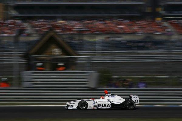 2007 Formula Nippon ChampionshipTwinring Motegi, Japan.19th - 20th May 2007Race winner Takashi Kogure (PIAA Nakajima) 1st position. Action. World Copyright: Yasushi Ishihara/LAT Photographicref: Digital Image 2007_FN_Rd3_004