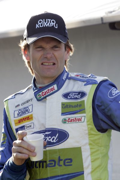 2007 FIA World Rally ChampionshipRound 7Rally Italy Sardinia 200717- 20 of May 2007Marcus Gronholm, Ford, Portrait.Worldwide Copyright: McKlein/LAT