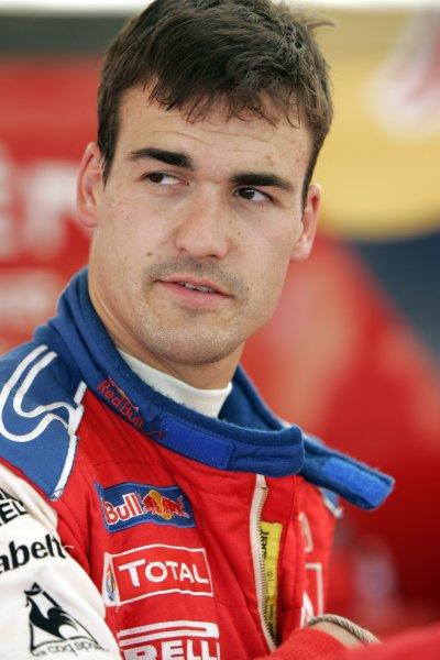 2008 FIA World Rally ChampionshipRound 07Acropolis Rally  200829/5-1/6  2008Dani Sordo, Citroen WRC, Portrait