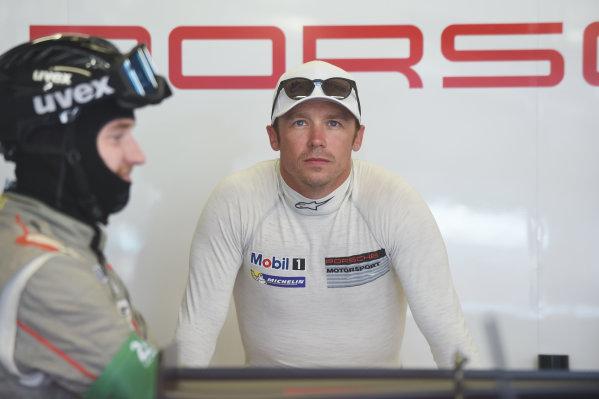2017 Le Mans 24 Hours Circuit de la Sarthe, Le Mans, France. Wednesday 14 June 2017 Patrick Pilet, Porsche Team World Copyright: Rainier Ehrhardt/LAT Images ref: Digital Image 24LM-re-5850