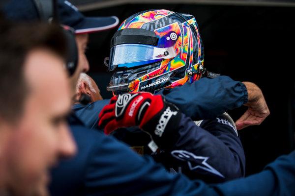 2017 FIA Formula 2 Round 6. Silverstone, Northamptonshire, UK. Sunday 16 July 2017. Artem Markelov (RUS, RUSSIAN TIME).  Photo: Zak Mauger/FIA Formula 2. ref: Digital Image _56I0640