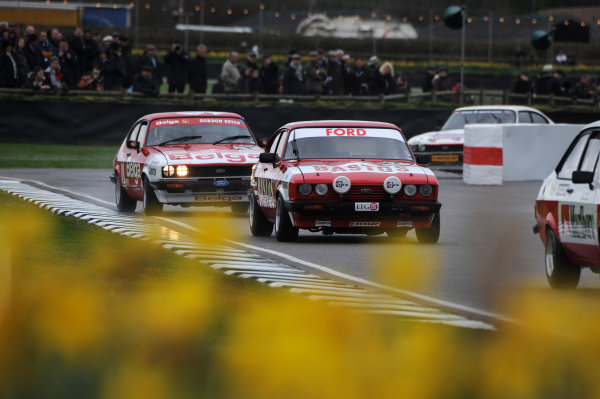 2017 75th Members Meeting Goodwood Estate, West Sussex,England 18th - 19th March 2017 Gerry Marshall Trophy Huff Meins Capri World Copyright : Jeff Bloxham/LAT Images Ref : Digital Image