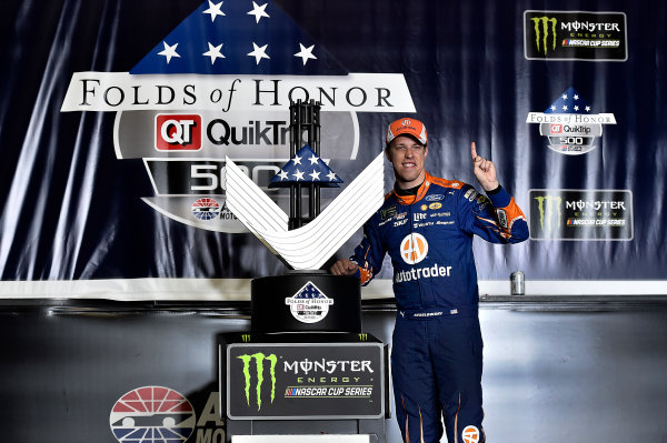 2017 Monster Energy NASCAR Cup Series - Fold of Honor QuikTrip 500 Atlanta Motor Speedway, Hampton, GA USA Sunday 5 March 2017 Brad Keselowski World Copyright: Rusty Jarrett/LAT Images ref: Digital Image 17ATL1rj_2904