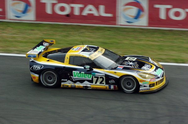 2007 Le Mans 24 Hours, Le Mans, France11th-17th JuneThe Alphand/Goueslard/Policand Corvette C6R at speed.Worldwide copyright: Dave Friedman/LAT PhotographicRef; Digital Image Only