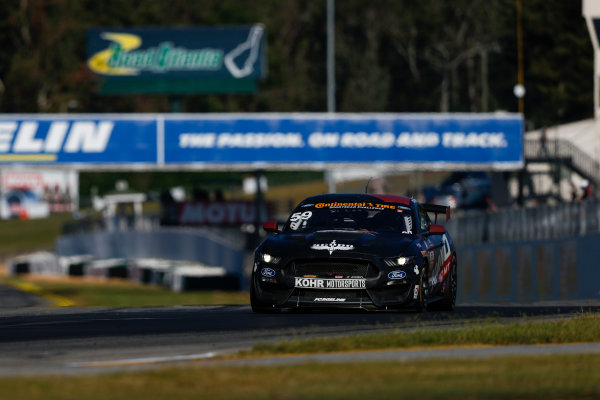 IMSA Continental Tire SportsCar Challenge Fox Factory 120 Road Atlanta, Braselton GA Thursday 5 October 2017 59, Ford, Ford Mustang, GS, Scott Maxwell, Jack Roush Jr World Copyright: Jake Galstad LAT Images