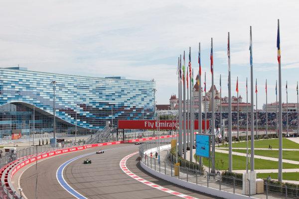 2015 GP3 Series Round 7. Sochi Autodrom, Sochi, Russia. Sunday 11 October 2015. Alex Fontana (SUI, Status Grand Prix)  World Copyright: Zak Mauger/LAT Photographic ref: Digital Image _MG_3632