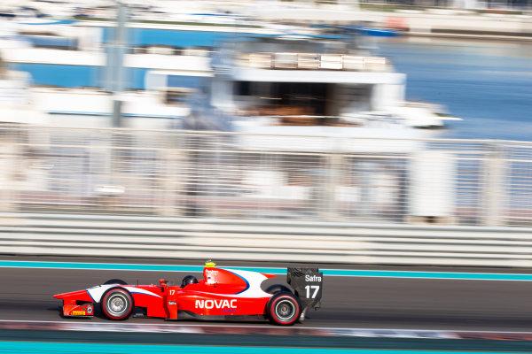 2014 GP2 Series Test 1  Yas Marina Circuit, Abu Dhabi, UAE.  Wednesday 12 March 2014. Andre Negrao (BRA) Arden International  Photo: Malcolm Griffiths/GP2 Series Media Service ref: Digital Image F80P5129