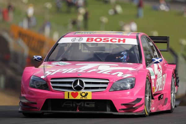 Susie Stoddart (GBR), TV Spielfilm AMG Mercedes, TV Spielfilm AMG Mercedes C-Klasse (2008).DTM, Rd7, Brands Hatch, England, 3-5 September 2010.World Copyright: LAT Photographicref: dne1004se266