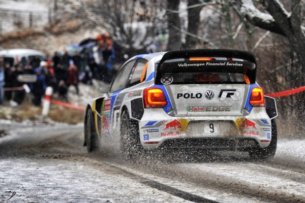 Andreas Mikkelsen (DEN) / Mikko Markkula (FIN), Volkswagen Polo R WRC. FIA World Rally Championship, Rd1, Rally Monte Carlo, Day Three, Monte Carlo, 18 January 2014.