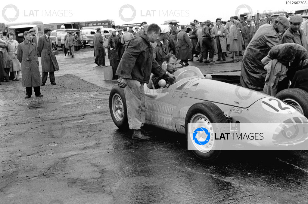 Snetterton, England. 13th August 1955.