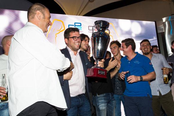 2016 GP2/3 Awards Evening. Yas Marina Circuit, Abu Dhabi, United Arab Emirates. Sunday 27 November 2016. Ren? Rosin - Team Manager, PREMA Racing Photo: Sam Bloxham/GP2 Series Media Service/GP3 Series Media Service. ref: Digital Image _SLA9874