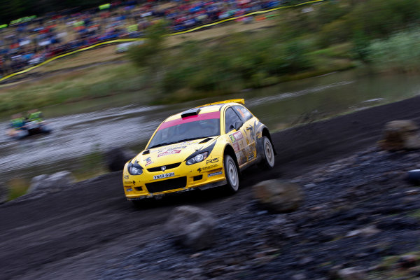 Round 10- Wales Rally GB 12-16/9- 2012.Tom Cave, Proton S2000, ActionWorldwide Copyright: McKlein/LAT
