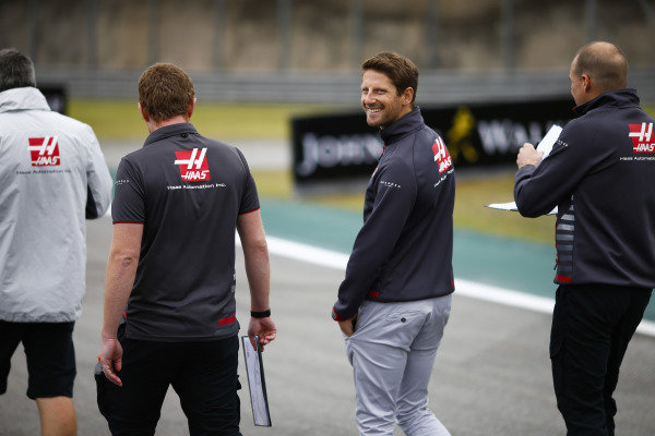Romain Grosjean, Haas F1 Team.