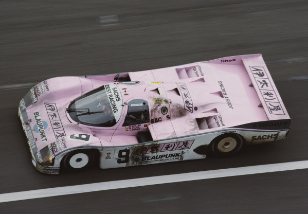 Bob Wollek / Hans-Joachim Stuck, Joest Racing, Porsche 962 C.