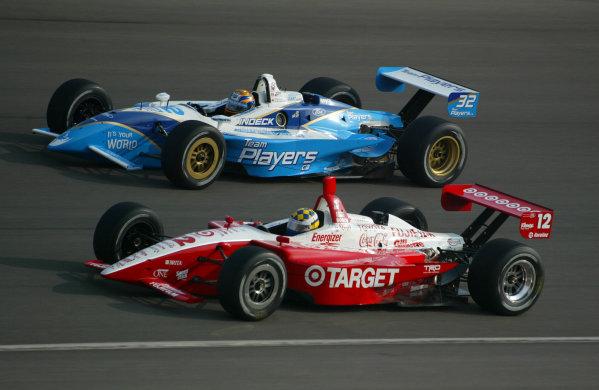 2002 Fontana CART, California Speedway, USA, 3 November, 2002Carpentier races with Brack-2002, Brad Bernstein, USALAT Photographic