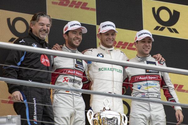 Mike Rockenfeller, Audi Sport Team Phoenix, Marco Wittmann, BMW Team RMG, Robin Frijns, Audi Sport Team Abt Sportsline
