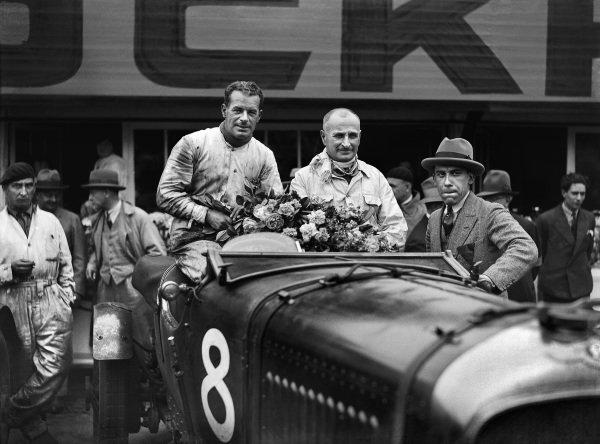 Frank Clement / Jean Chassagne, Bentley Motors Ltd., Bentley 4½ Litre.