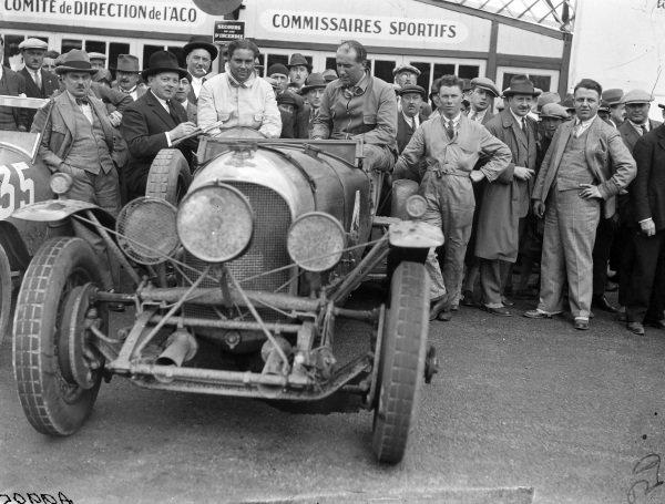 Woolf Barnato / Bernard Rubin, Bentley Motors Ltd., Bentley 4½ Litre.