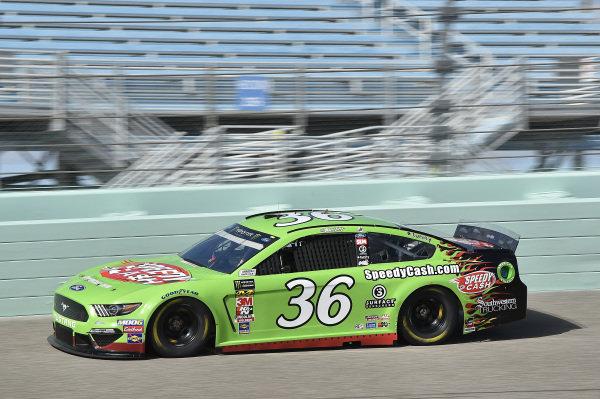 #36: John Hunter Nemechek, Front Row Motorsports, Ford Mustang Speedy Cash