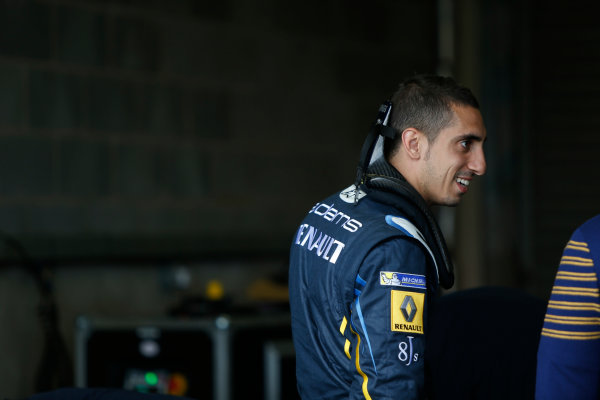 FIA Formula E Test Day, Donington Park, UK.  3rd - 4th July 2014.  Sebastien Buemi, e.dams. Photo: Zak Mauger/FIA Formula E ref: Digital Image _L0U4384