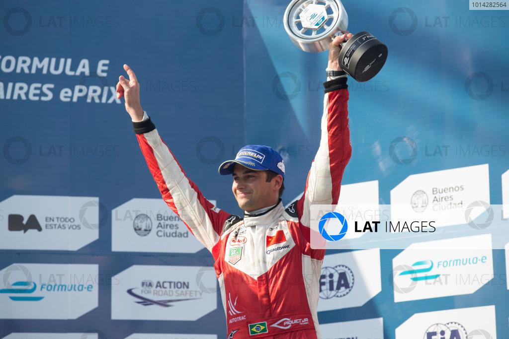 2014 Formula E  Buenos Aires e-Prix, Argentina Saturday 10 January 2015. Nelson Piquet Jr (BRA)/China Racing - Spark-Renault SRT_01E  Photo: Alastair Staley/LAT/Formula E ref: Digital Image _R6T1927
