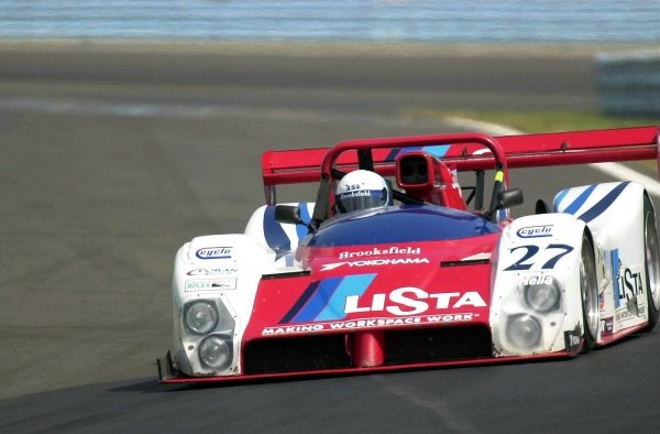 2001 Watkins Glen 2hr. Grand Am,Watkins Glen, NY, USAAugust 2001Mauro Baldi placed the Doran Lista Judd  Ferrari chassis car on pole for tomorrows race.C: 2001,  Denis L. Tanney, World