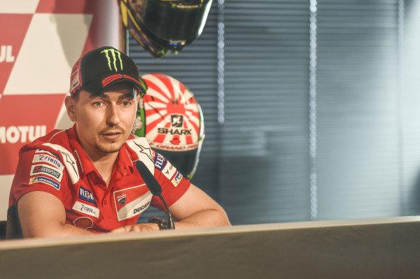 Press Conference, Valentino Rossi, Jorge Lorenzo, Ducati Team.