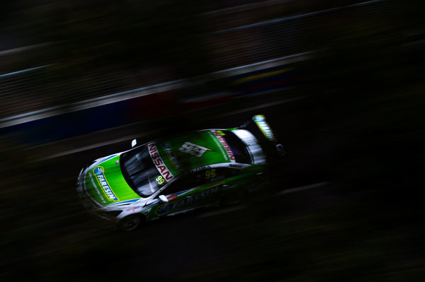 2015 V8 Supercars Round 14. Sydney 500, Sydney Olympic Park, Sydney, Australia. Friday 4th December - Sunday 6th December 2015. James Moffat drives the #99 Nissan Motorsport Nissan. World Copyright: Daniel Kalisz/LAT Photographic  Ref: Digital Image V8SCR14_SYDNEY500_DKIMG0694.JPG