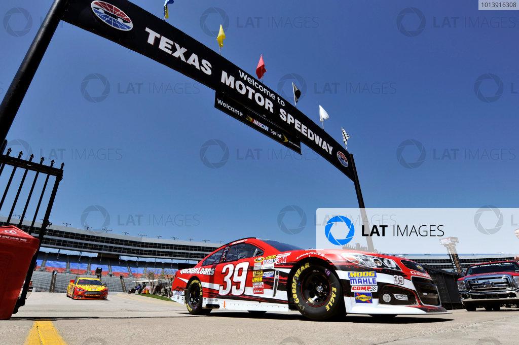 11-13 April, 2013, Fort Worth, Texas USA Ryan Newman ©2013, Nigel Kinrade LAT Photo USA