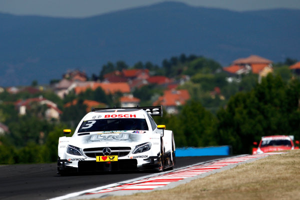 2017 DTM Round 3 Hungaroring, Budapest, Hungary. Sunday 18 June 2017. Paul Di Resta, Mercedes-AMG Team HWA, Mercedes-AMG C63 DTM World Copyright: Alexander Trienitz/LAT Images ref: Digital Image 2017-DTM-R3-HUN-AT1-1936