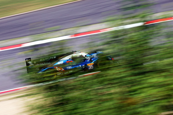 2017 World Endurance Championship, Nurburgring, Germany. 14th-16th July 2017 #35 Signatech Alpine Matmut Alpine A470-Gibson: Nelson Panciatici, Pierre Ragues, Andre Negrao  World copyright. JEP/LAT Images