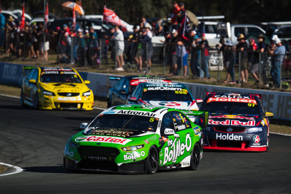 2017 Supercars Championship Round 8.  Ipswich SuperSprint, Queensland Raceway, Queensland, Australia. Friday 28th July to Sunday 30th July 2017. Mark Winterbottom, Prodrive Racing Australia Ford.  World Copyright: Daniel Kalisz/ LAT Images Ref: Digital Image 300717_VASCR8_DKIMG_11400.NEF