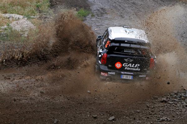 Round 06, Rally Acropolis Greece24th - 27th May 2012Armindo Araujo, Mini, actionWorldwide Copyright: McKlein/LAT