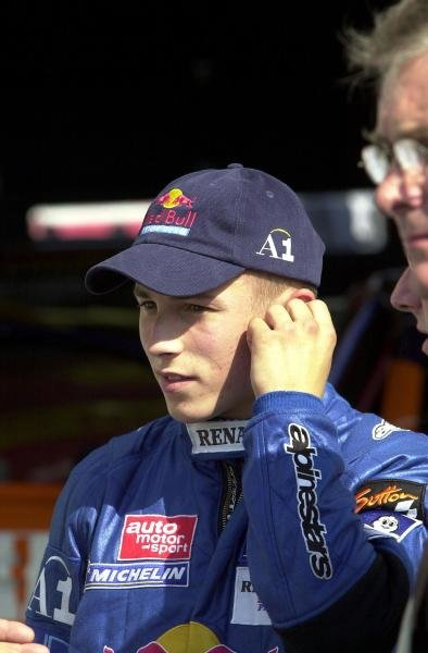 Christian Klien (AUT) Red Bull Junior Team.