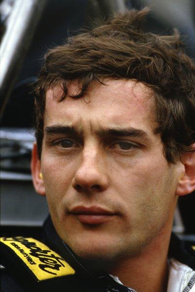 1986 Formula 1 World Championship. Ayrton Senna (Lotus-Renault). World - LAT Photographic
