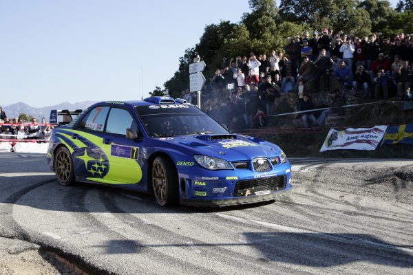 2007 FIA World Rally ChampionshipRound 13Rally of France, Tour de Course 200711-14 October 2007Petter Solberg, Subaru, Action.Worldwide Copyright: McKlein/LAT