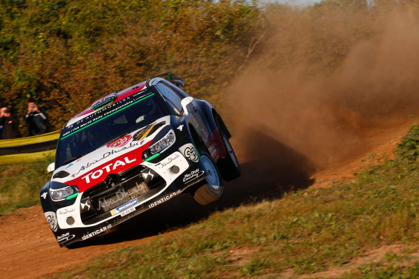 2015 World Rally Championship  Round 12, Rally of Spain, Catalunya 22nd - 25th October, 2015 Kris Meeke, DS, action  Worldwide Copyright: McKlein/LAT