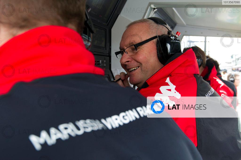 Albert Park, Melbourne, Australia25th March 2011.John Booth, Team Principal, Marussia Virgin Racing. Portrait. World Copyright: Charles Coates/LAT Photographicref: Digital Image