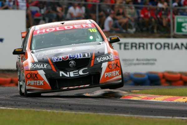 Garth Tander, (aust) Toll HSV Commodore finished 4th outright for the round 