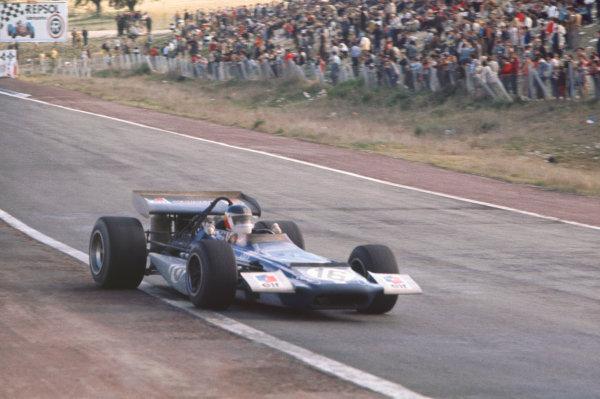 1970 Spanish Grand Prix.  Jarama, Spain. 17-19th April 1970.  Johnny Servoz-Gavin, March 701 Ford, 5th position.  Ref: 70ESP06. World Copyright: LAT Photographic