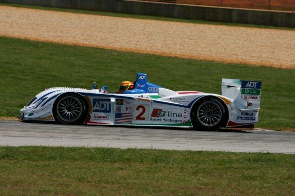 Frank Biela (GER) Champion Racing Audi R8.American Le Mans Series, Rd2, Road Atlanta, USA, 17 April 2005.DIGITAL IMAGE