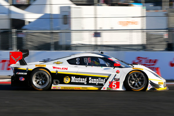 17-18 April, 2015, Long Beach, California USA 5, Chevrolet, Corvette DP, P, Joao Barbosa, Christian Fittipaldi ?2015, Russell LaBounty LAT Photo USA