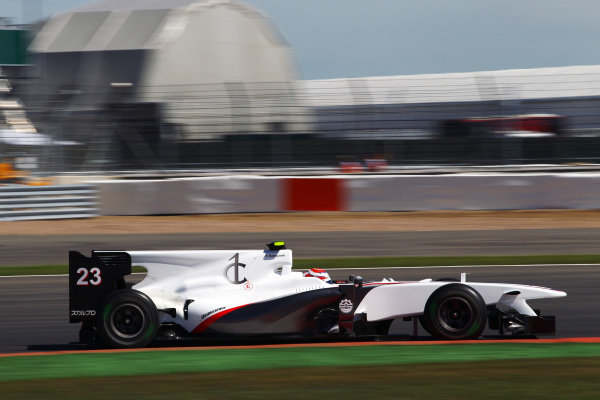 Kamui Kobayashi (JPN) BMW Sauber C29. Formula One World Championship, Rd 10, British Grand Prix, Practice Day, Silverstone, England, Friday 9 July 2010.