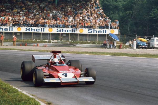 1973 Italian Grand Prix.  Monza, Italy. 7-9th September 1973.  Arturo Merzario, Ferrari 312B3.  Ref: 73ITA36. World copyright: LAT Photographic