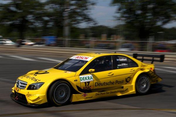David Coulthard (GBR), AMG Mercedes C-Klasse (2008).DTM, Rd4, Norisring, Nuremberg, Germany. 2-4 July 2010 World Copyright: LAT PhotographicRef: Digital Image dne1003jy14
